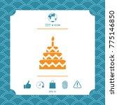 cake symbol icon | Shutterstock .eps vector #775146850