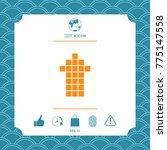 arrow icon   up | Shutterstock .eps vector #775147558