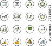 line vector icon set  ... | Shutterstock .eps vector #775150978