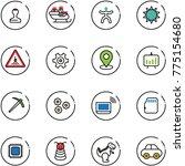 Line Vector Icon Set   Stamp...