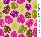 magents and green vector...   Shutterstock .eps vector #775158523