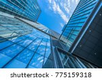 low angle view of skyscrapers... | Shutterstock . vector #775159318