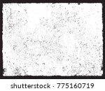 distress vector texture.grunge... | Shutterstock .eps vector #775160719