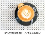 coffee late soft focus | Shutterstock . vector #775163380