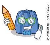 student jelly character cartoon ... | Shutterstock .eps vector #775171120
