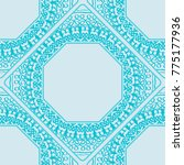 seamless lace pattern with...   Shutterstock . vector #775177936