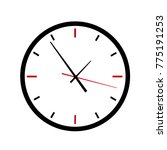 alarm clock icon  vector.  | Shutterstock .eps vector #775191253