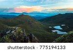 volcan turrialba erupts in the... | Shutterstock . vector #775194133