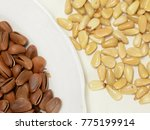 pine nut healthy food fresh | Shutterstock . vector #775199914