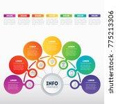 business presentation or... | Shutterstock .eps vector #775213306