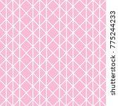 vector pink pattern  | Shutterstock .eps vector #775244233