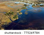 aerial view of a small part of... | Shutterstock . vector #775269784
