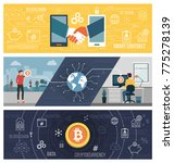 cryptocurrency  bitcoin  smart... | Shutterstock .eps vector #775278139