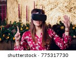 Young Woman Using Virtual...