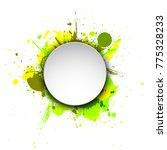 banner blot presentation ... | Shutterstock .eps vector #775328233