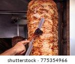 gyros or doner  middle east... | Shutterstock . vector #775354966