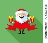 santa claus sign. | Shutterstock .eps vector #775361518