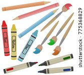 Stationery Vector Clipart...