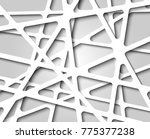 abstract black and white...   Shutterstock .eps vector #775377238