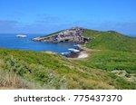 isla isabel a volcanic island... | Shutterstock . vector #775437370