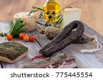 several variety of traditional... | Shutterstock . vector #775445554