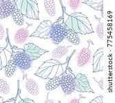 vector seamless pattern with... | Shutterstock .eps vector #775458169