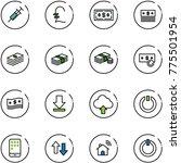 line vector icon set   syringe... | Shutterstock .eps vector #775501954