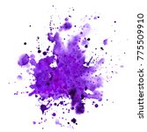 ultra violet. abstract paint... | Shutterstock . vector #775509910