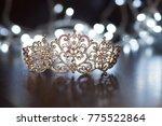 royal crown  diadem. wealth... | Shutterstock . vector #775522864