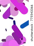light multicolor  rainbow...   Shutterstock . vector #775543366