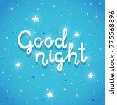 "Phrase ""good Night""  Poster..."
