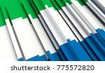 fragment flag of sierra leone.... | Shutterstock . vector #775572820
