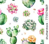 colorful seamless pattern with... | Shutterstock . vector #775574869