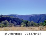 black canyon of the gunnison... | Shutterstock . vector #775578484