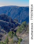 black canyon of the gunnison... | Shutterstock . vector #775578514