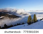 view of alps at mayrhofen ski... | Shutterstock . vector #775581034