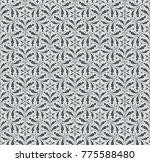 seamless gothic background.... | Shutterstock .eps vector #775588480