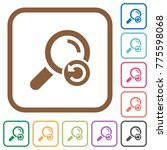 undo search simple icons in... | Shutterstock .eps vector #775598068