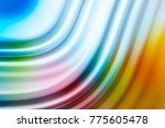 colorful ripple background | Shutterstock . vector #775605478