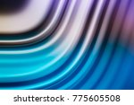 colorful ripple background | Shutterstock . vector #775605508