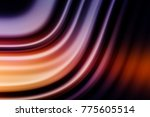 colorful ripple background | Shutterstock . vector #775605514