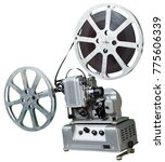 a movie projector is an opto...   Shutterstock . vector #775606339