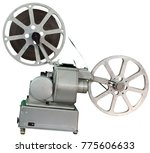 a movie projector is an opto... | Shutterstock . vector #775606633