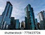 vancouver bc canada december 14 ... | Shutterstock . vector #775615726