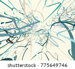 abstract art texture. colorful... | Shutterstock . vector #775649746