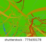 abstract art texture. colorful... | Shutterstock . vector #775650178