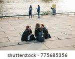berlin  october 3  2017  a... | Shutterstock . vector #775685356