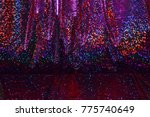 multicolored shimmering  dark ... | Shutterstock . vector #775740649