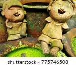Clay Dolls Sit On The Pot Pitch