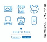 Internet Of Things Thin Line...